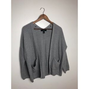 Forever 21 Cardigan Gray w/ Pockets